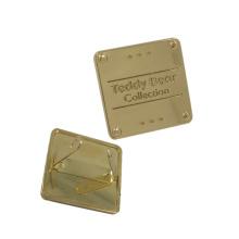 Dongguan-Hardware-Gewohnheits-Taschen-Metallfirmenzeichen