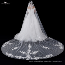 TA040 Exquisite Applique Ein Layer Braut Schleier