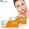 2 ml 100% d'acide hyaluronique pur fine ligne injectable d'acide hyaluronique dermique gel de remplissage pour l'injection de rides peu profondes
