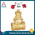 TMOK Pumping rod threaded brass gate valves