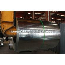 Bobina de aço galvanizado para materiais de construção