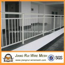 powder coated steel fence balcony guardrail