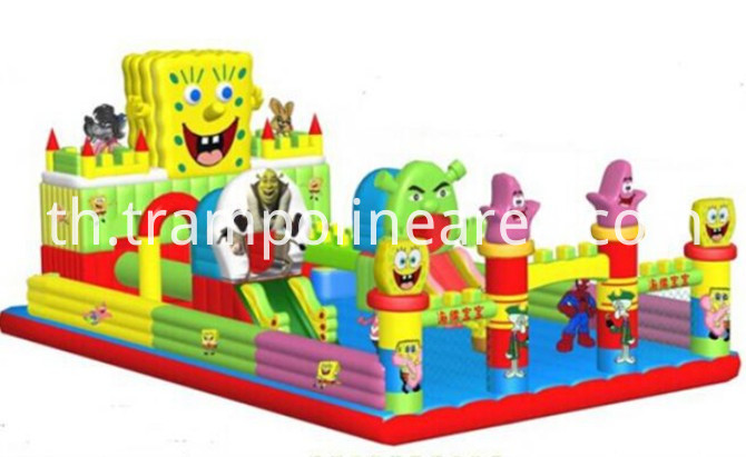 inflatable bounce castle