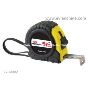 Fita de medição de aço coberto de borracha (EV-M802)