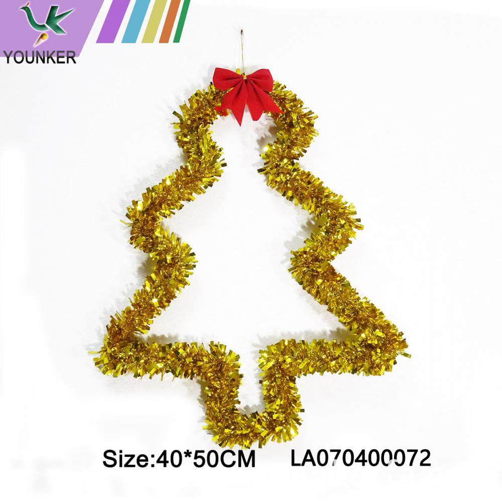 Christmas Gold Tree Hang Ornament