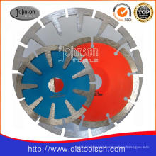 105-180mm Diamond Sintered Concave Saw Blade for Cutting Stone