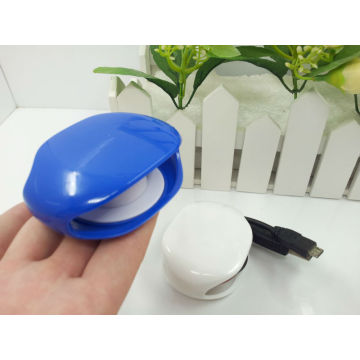 New Design Auto Cable Winder Tidy for earphone,headphone,data cable,charging cable