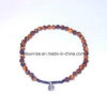 Полудрагоценные камни Мода кристалла бисером браслет Gemstone ювелирные изделия