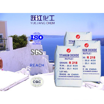TiO2 Rutilo Dióxido de titânio para uso geral