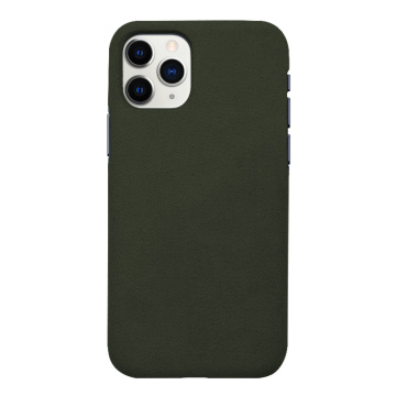 Etui de protection complet en cuir pour iPhone