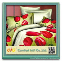 3d bedding set/bed sheet/comforter set