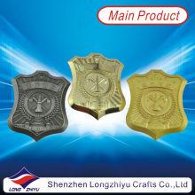 Trofeo de la placa de bronce de la plata del oro de la concesión del metal