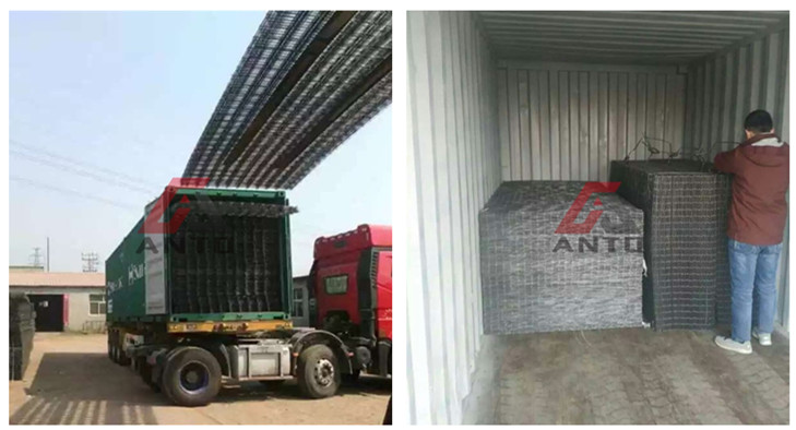 welded wire mesh package