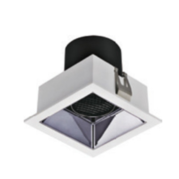 Downlight LED carré à intensité variable 12W