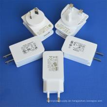 USB-Netzteil mit UL / cUL GS Ce SAA FCC genehmigt