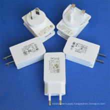 USB Power Adapter with UL/cUL GS Ce SAA FCC Approved