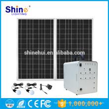 100W Fabrik Preis Mobile Ladegerät Solar Home Lighting System