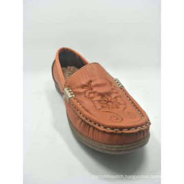 Old Women Stitching Shoes Injection Imitation Leather Casual Inwrought