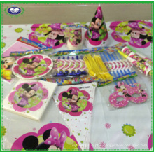 Minnie Mouse Bowtique Children′s Birthday Party Tableware