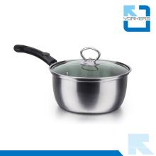 Hot Sale aço inoxidável sopa pot leite fervendo pot