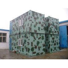 Стальной модульный дом