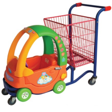 Beautiful and bright color mini shopping cart for kids/mini wire shopping cart/kids shopping cart