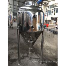 Réservoir de veste en acier inoxydable avec trois niveaux de fermentation