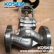 Fole de aço inoxidável selado válvulas de globo (WJ41)