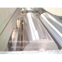 Feuille d'aluminium pour emballage alimentaire et type de rouleau