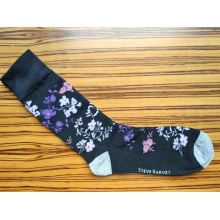 Long Warm Printed Socks