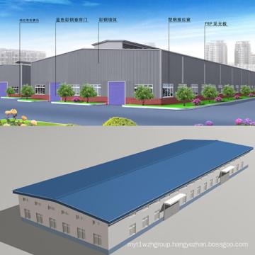 Large Span Prefabricated House Steel Building