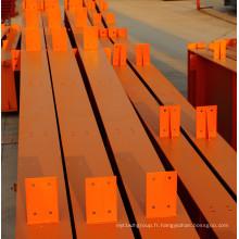 Matériau de construction en acier à poutre en H