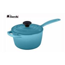 Ebay Hot Sale Enamel Cast Iron Sauce Pot