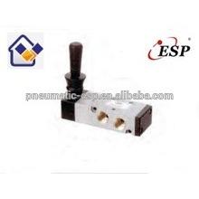 Válvula solenoide manual de aluminio serie ESP 4H