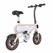 Bicicleta eléctrica de batería de litio máxima de 12 pulgadas a 30 km / h