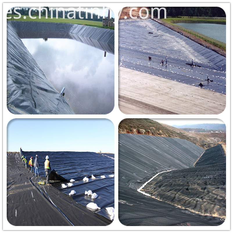 HDPE Geomembrane for Water Pond