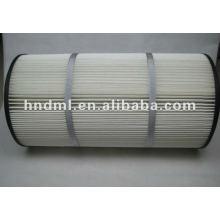Donaldson To Filter Dust Polyester Fiber Filter Cartridge P190818-016-436 , Circulation Pump Outlet Filter Element