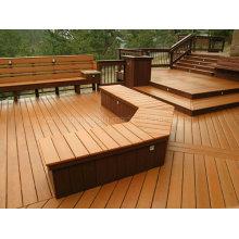 Hot Venda impermeável WPC Decking madeira composto composto de plástico