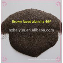 Brown fundió alúmina para abrasivos