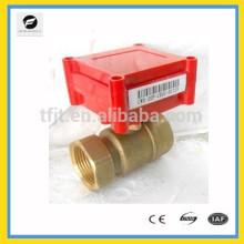 CWX20P Válvula de motor eléctrico de 2 vías DC5V Actuador con función de realimentación de señal