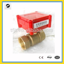 CWX20P 2-way DC5V Brass Actuator Electric Motor valve with signal feedback function