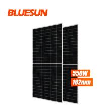 Bluesun 530w 535w 540w 545w 550w solar panel 550w solar power panel for Europe market