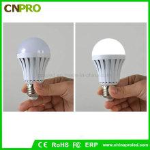 7W Plastiknot-LED-Birnen-Licht