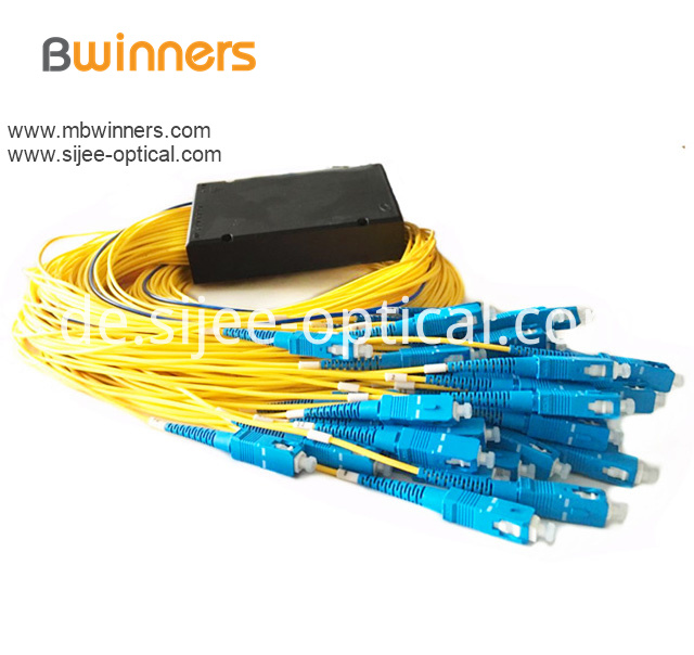 Cassette Type 1x32 Plc Splitter With Sc Pc Connector