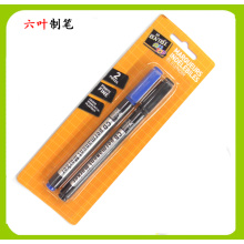 CD / DVD Marker Pen 2 PCS, conjunto de papelaria, material de escritório