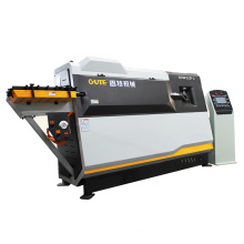 Double Wire 5-13 mm Reinforced Steel Bar Bending And Cutting CNC Bending Machine With CE Certificate