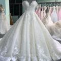 Luxury New Design off Shoulder Bridal Gown Custom Made Vestidos Novias 2018