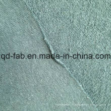 Tissu de coton en chanvre / coton en tricot - Green-by The Yard (QF14-1467)