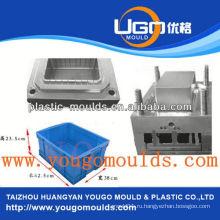 Zhejiang taizhou huangyan пластмассовая пищевая рыба хранения контейнер литье