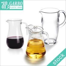 Pichet en eau acrylique ou en jus de haute qualité
